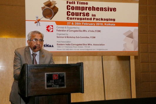 Full Time Comprehensive Course in Corrugated Packaging - Certificate Distribution