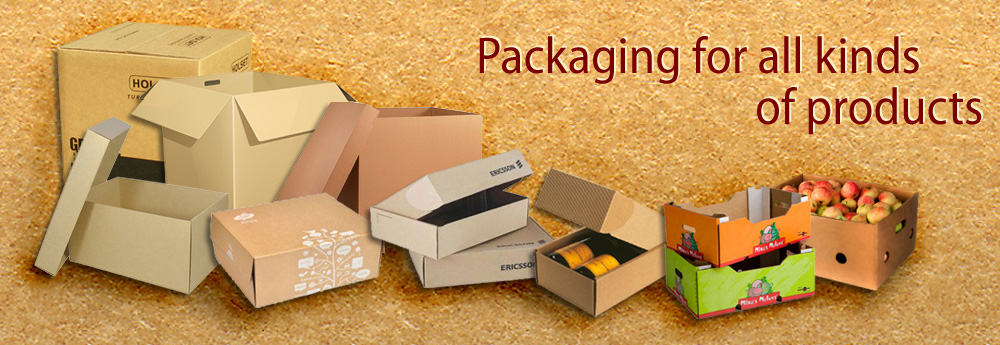 Packaging for all kinds of products